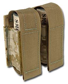 Sport Smoke Tactical Smoke Grenade Pouch MOLLE Digi-tan