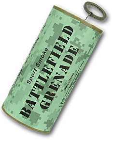 Battlefield Smoke Grenade for paintball and airsoft