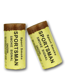 Sportsman smoke signal for outdoorsman and paintball