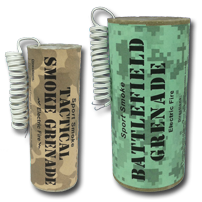 Electric Fire Smoke Grenades by Sport Smoke